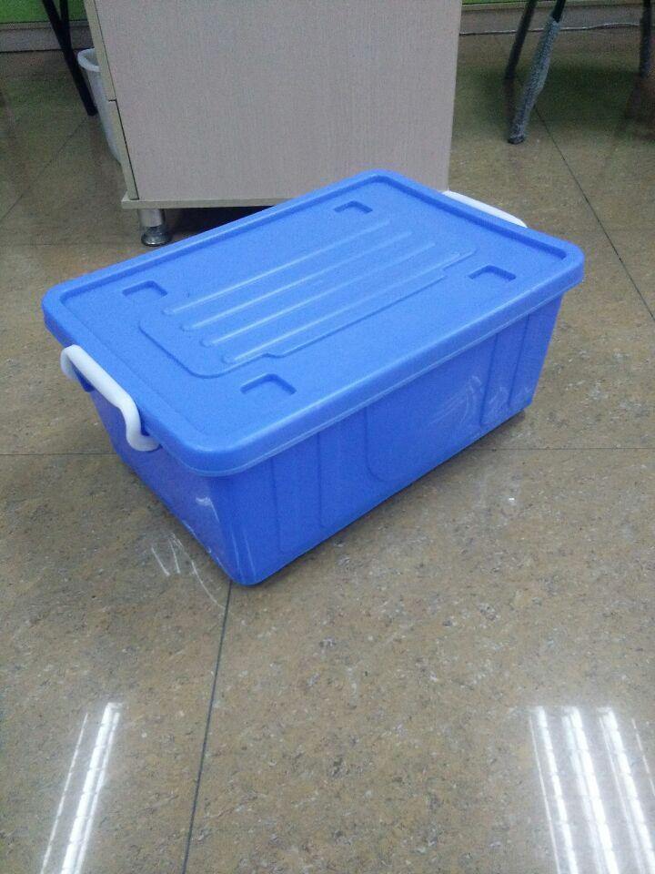 消毒餐具箱配送面包塑胶箱车间货物整理货箱批发!