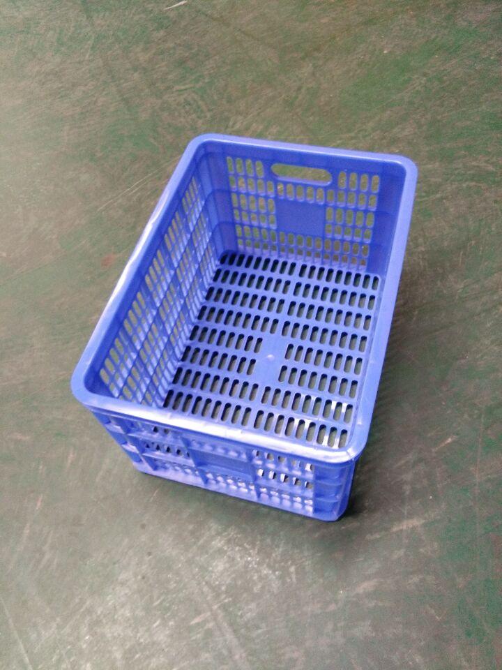 广西塑料制品厂耐磨耐摔塑料周转箩批发